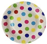 Тарелки Цветной Горох